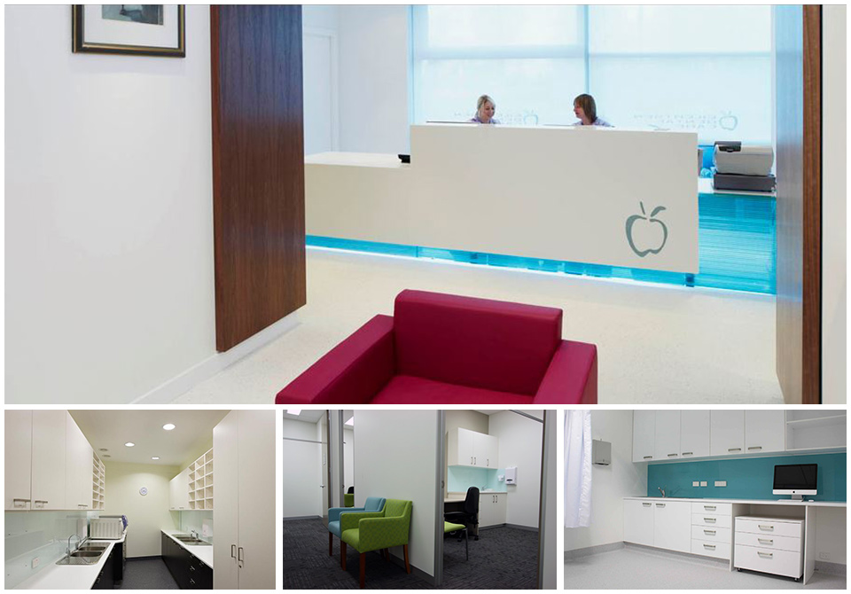 Medical fitout office space design for Medical design consultancy